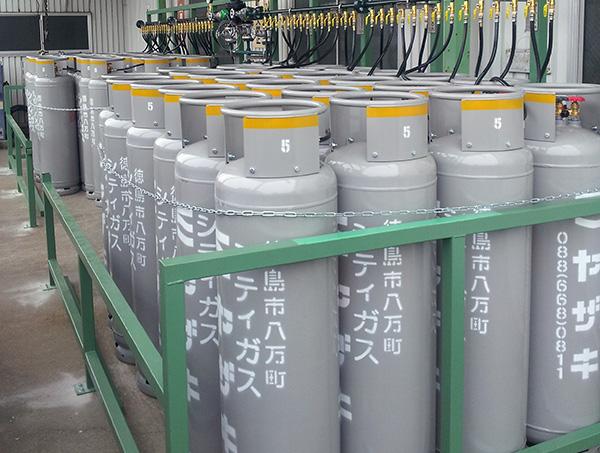 工業用ガス設備
